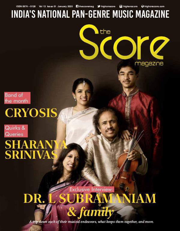 The Score Magazine January 2020