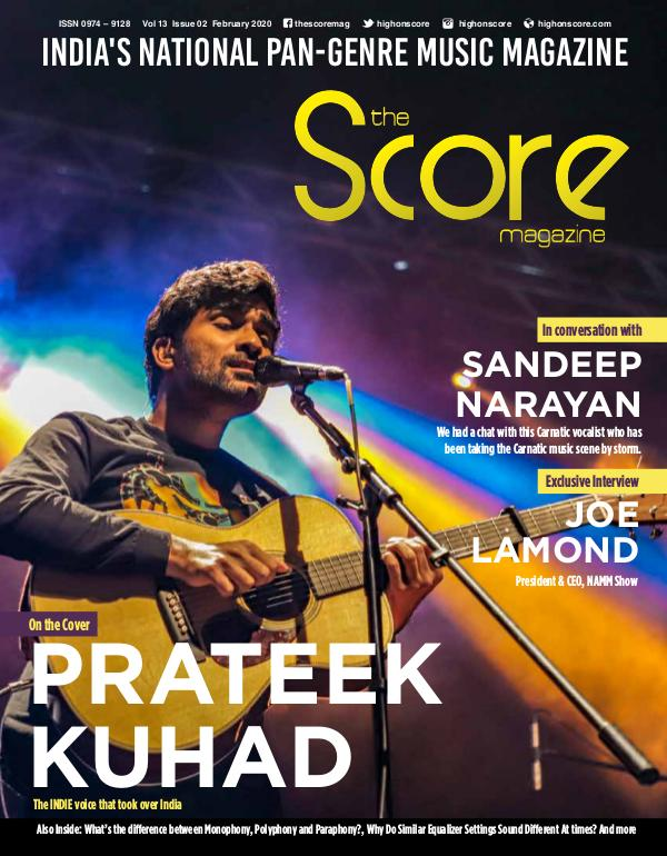 The Score Magazine February 2020 issue