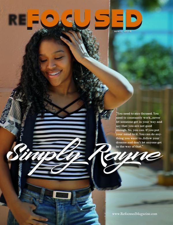 Refocused Magazine April 2016