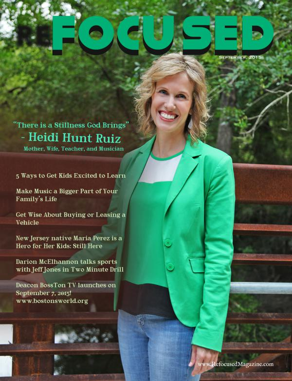 Refocused Magazine September 2015