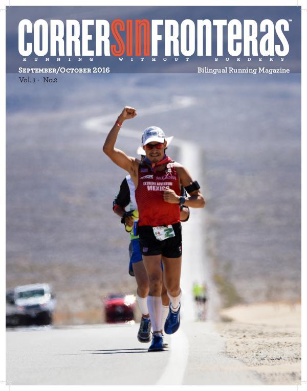 Revista Correr Sin Fronteras Issue September/October