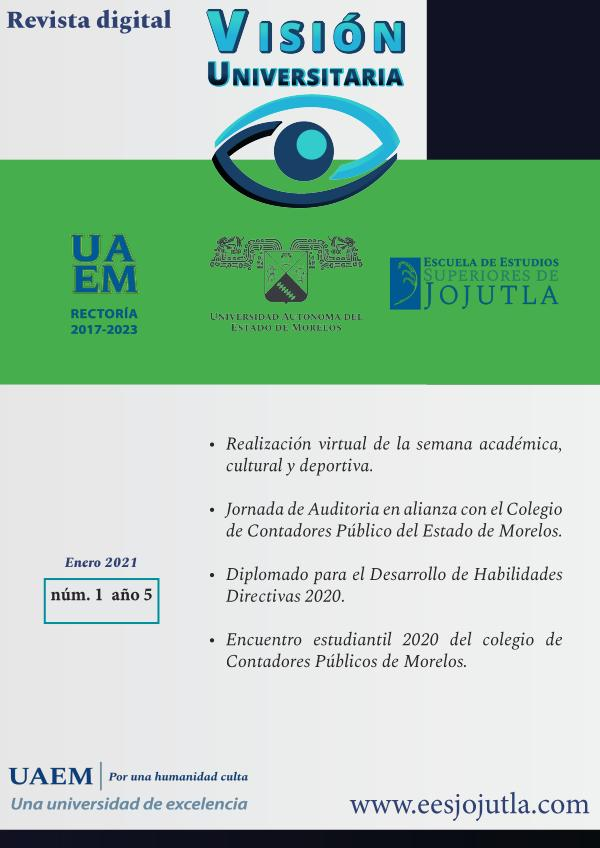 Revista Visión Universitaria... EESJojutla Núm. 1 / Año 5