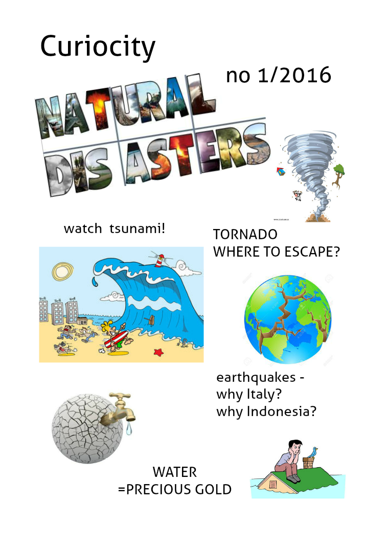 Curiosity Natural disasters