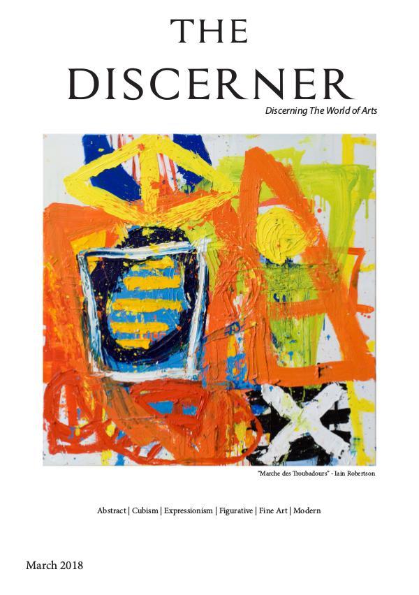 The Discerner Magazine The Discerner Art Publication March 2018