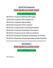 AB 219 STUDY Education  Terms/ab219study.com
