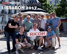 Ricoh Incentive Lissabon 2017
