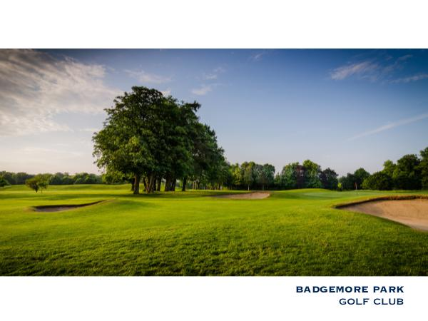 Badgemore Park Golf Club, UK