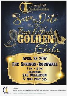 Boots & Heels Golden Gala