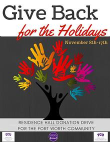 Give Back for the Holidays