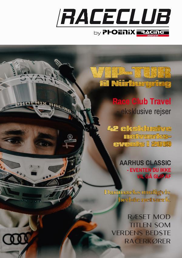 Race Club 2019 - Magaisn Et magasin hvor du kommer med bag om Race Club