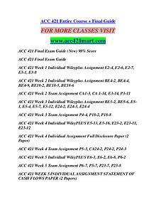 ACC 421 MART Education  Terms/acc421mart.com