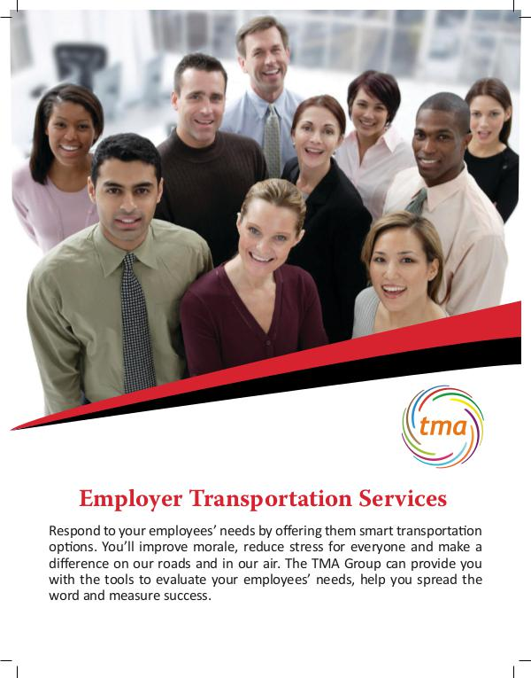 TMA Employer Transportation Services Transportation Service for Employers