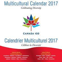 Canada150 Diversity Calendar