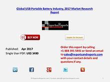 Global Forecasts on USB Portable Battery Market 2022