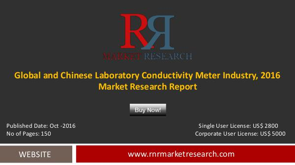 Global and Chinese Laboratory Conductivity Meter Market Analysis Oct-2016