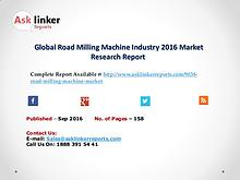Global Road Milling Machine Industry Overview and Growth Report 2020