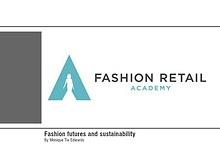 Fashion Futures and Sustainability