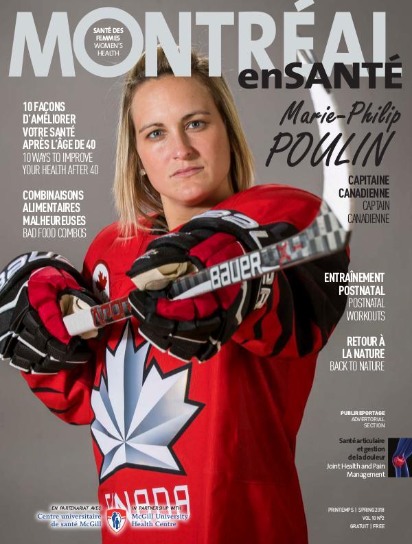 Montréal enSanté MES V10N2 Printemps/Spring 2018