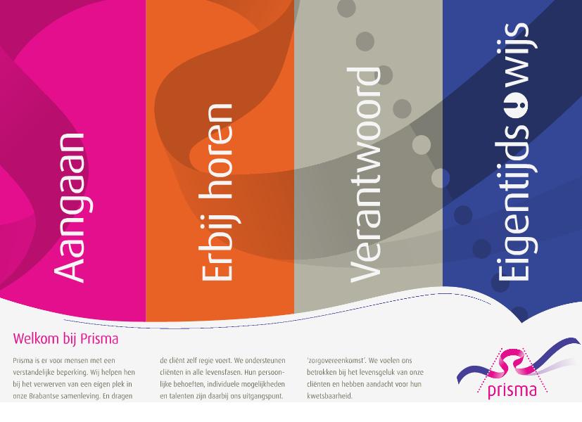 Brochures De kernwaarden van Prisma