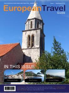 European Travel Guide - Issue1 - September 2013 Sept. 2013