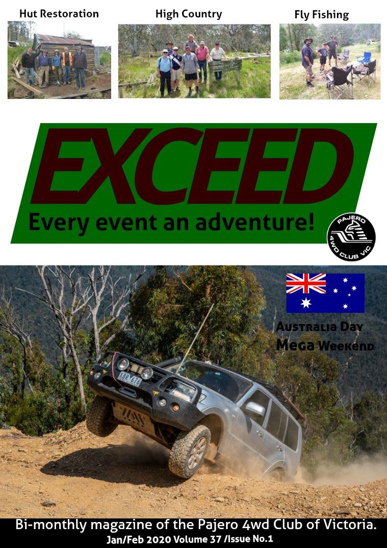 Exceed 4WD Magazine Jan/Feb 2020 Issue 1 Volume 37