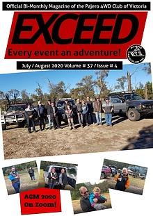 Exceed Jul/Aug 2020 - 4WD Club Magazine