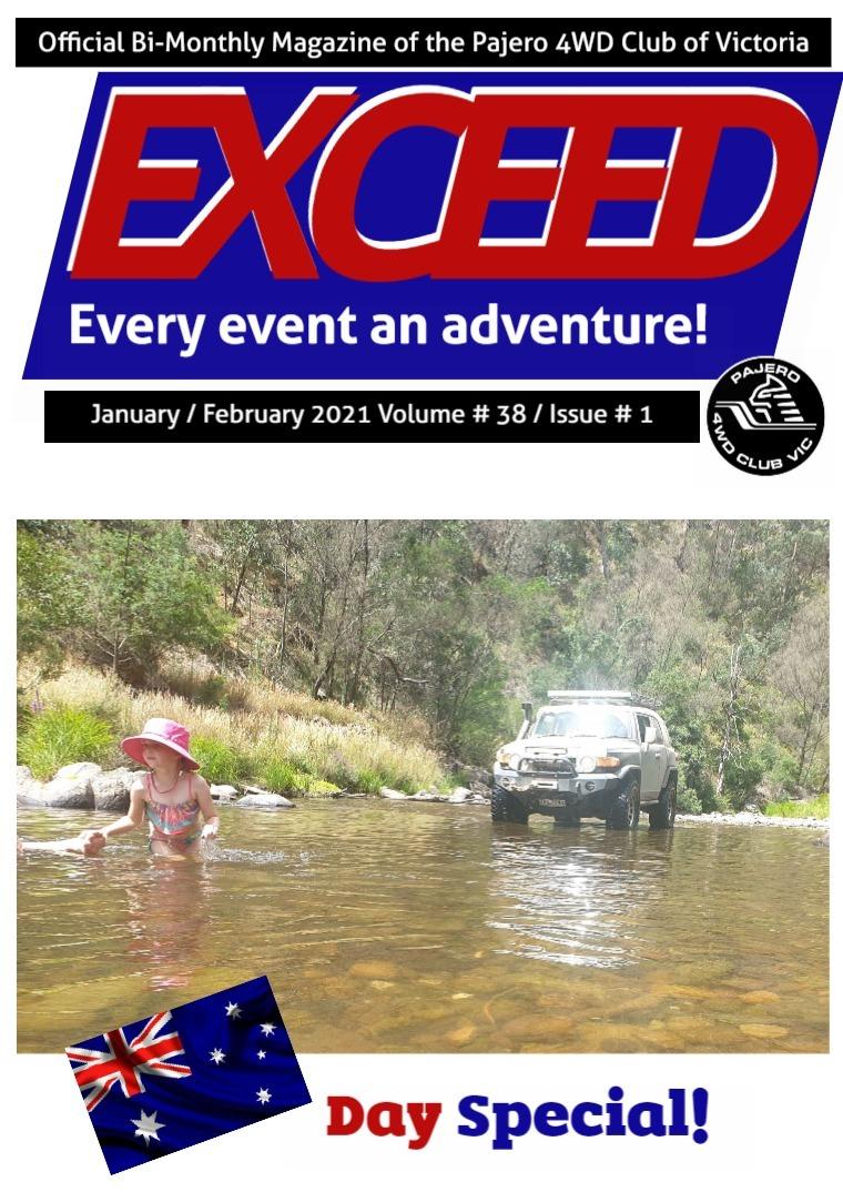 Exceed 4WD Magazine Jan/Feb 2021 Jan / Feb Volume #38 / Issue # 01