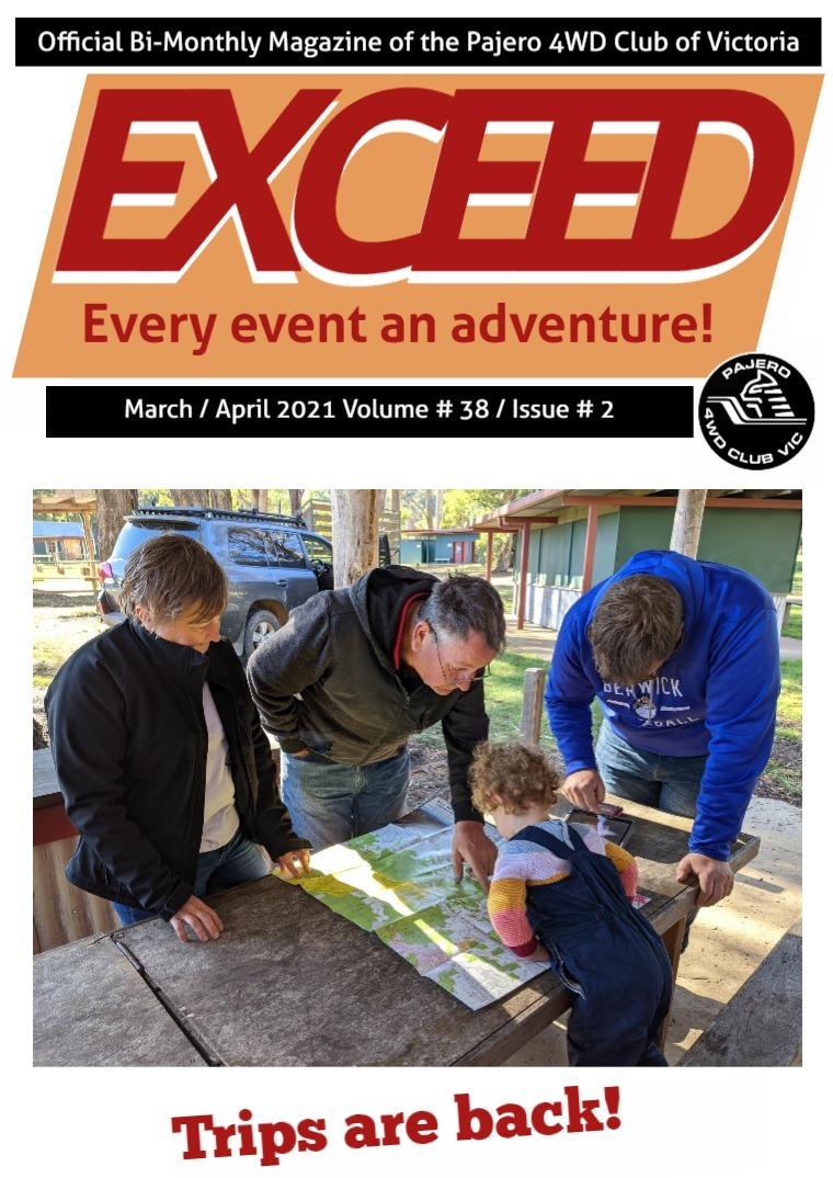 Exceed 4WD Magazine Mar/Apr 2021 Mar / Apr Volume #38 / Issue # 02