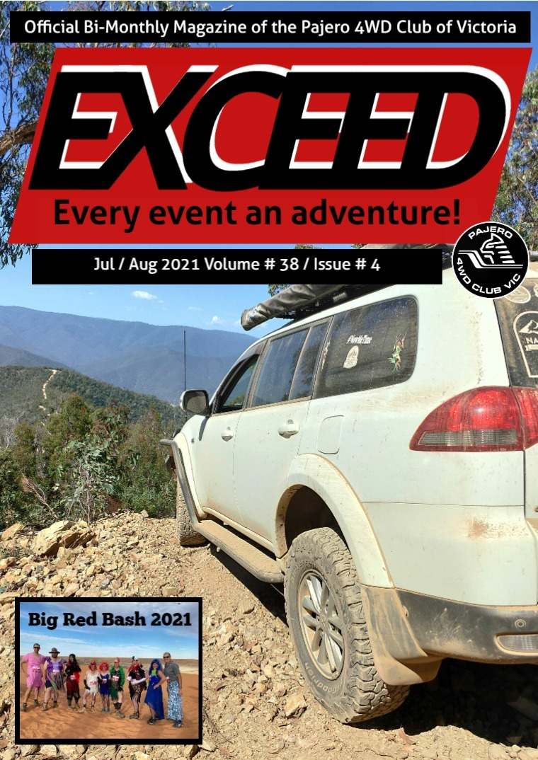 Exceed 4WD Magazine July/August 2021 Volume #38 / Issue # 04