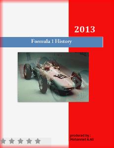 formula1 history Formula 1 History june 2013