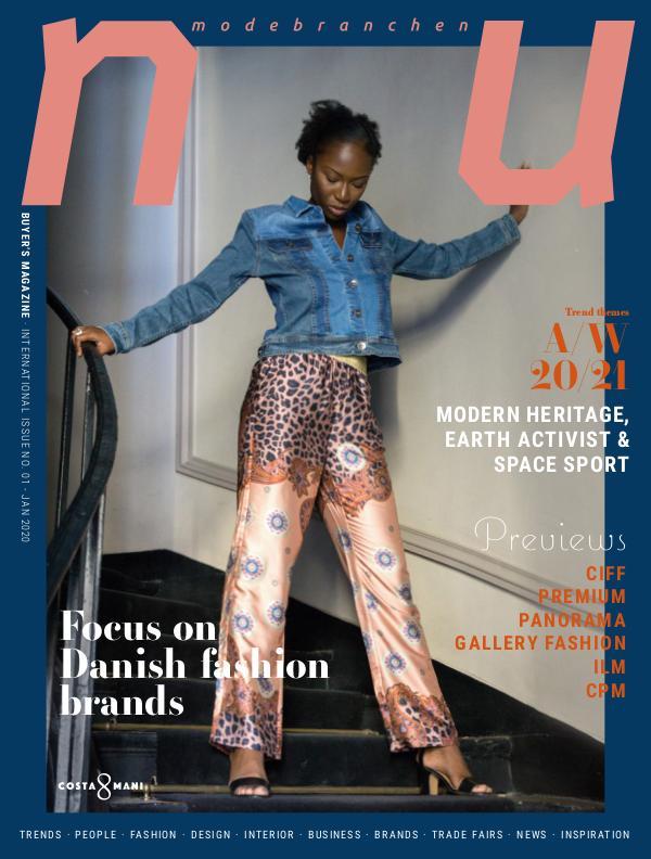NU International no. 1 January 2020 Fashion Part