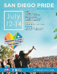 San Diego LGBT Pride Official Souvenir Guide 2013