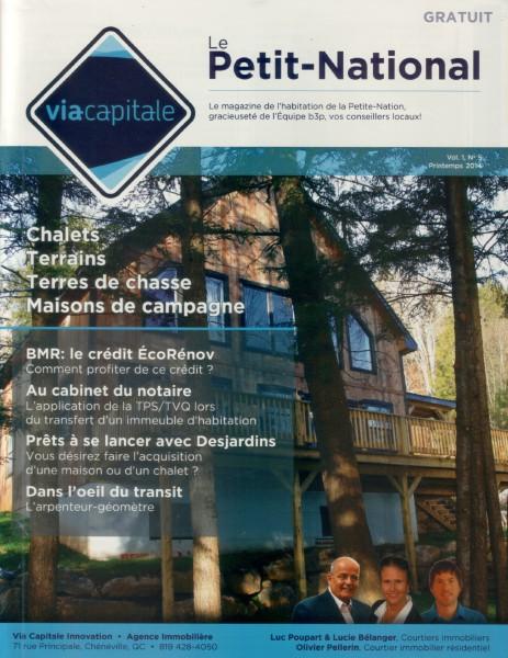 Le Petit-National - Vol. 1 No 5 - Printemps 2014