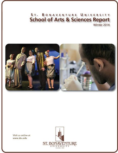 School of Arts and Sciences Review Winter 2014