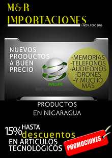 Catálogo de mes de Noviembre y Diciembre | M&RIMPORTACIONES