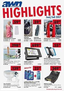AWN Wassersport HIGHLIGHTS JUNI / JULI 2017