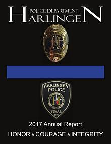 Harlingen Police Department 2017 Annual Report