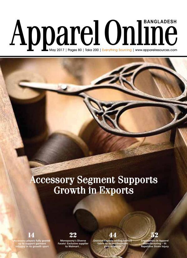 Apparel Online Bangladesh Magazine May'17