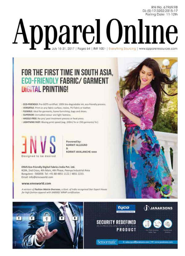 Apparel Online India 16-31 July' 17