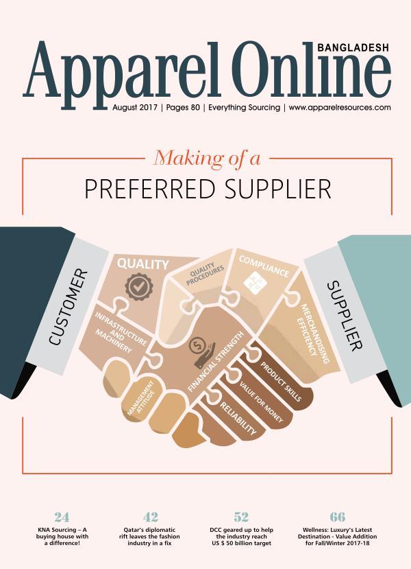 Apparel Online Bangladesh Magazine Aug'17