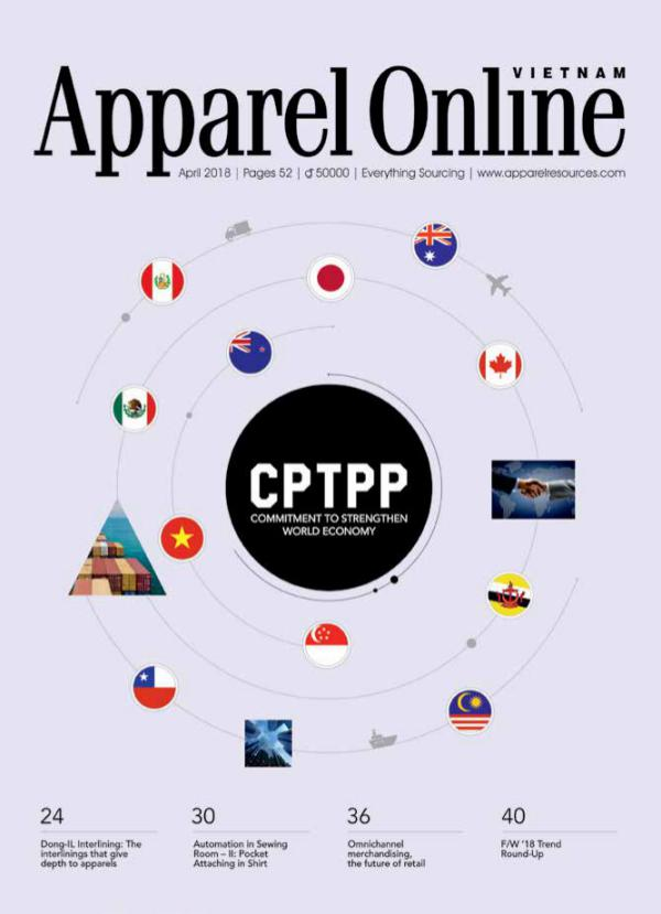 Apparel Online Vietnam Magazine Magazine April 2018