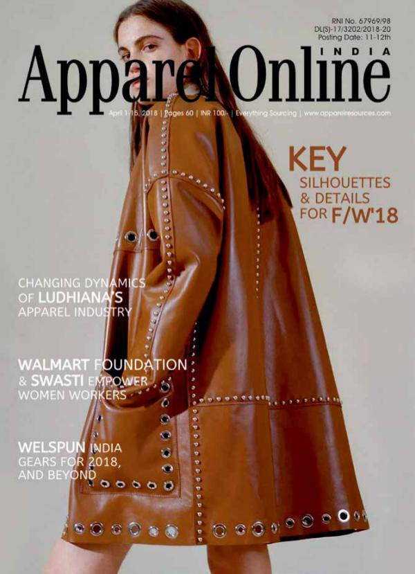 Apparel Online India Magazine April 1st Issue 2018
