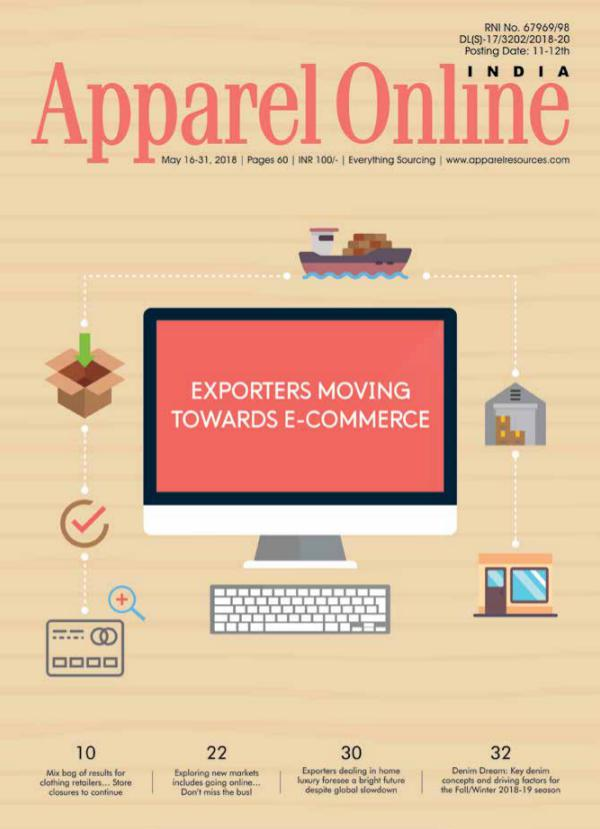 Apparel Online India Magazine May 2nd Issue 2018