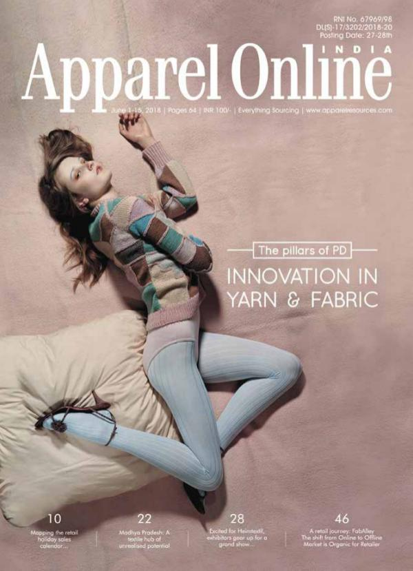 Apparel Online India Magazine June 1st Issue 2018