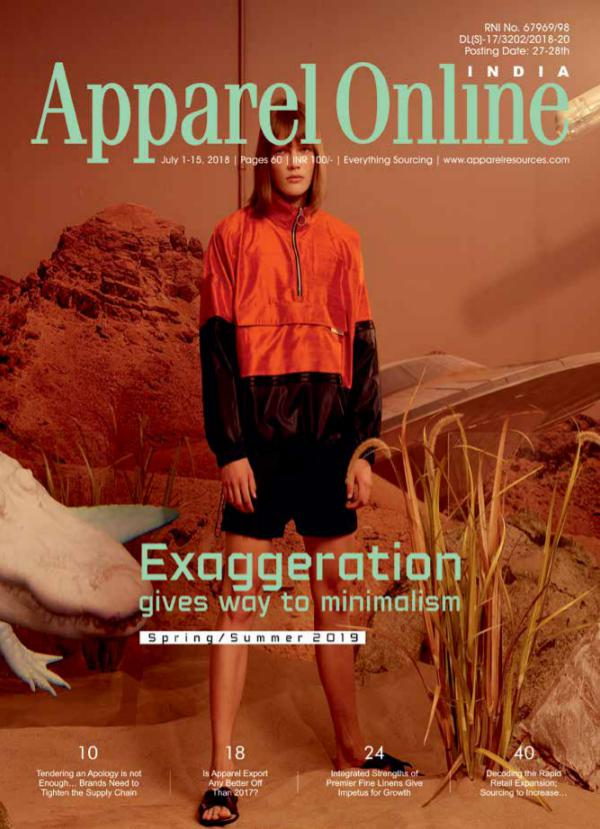 Apparel Online India Magazine July 1st Issue 2018