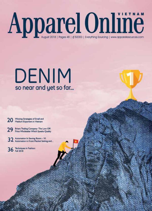 Apparel Online Vietnam Magazine August Issue 2018