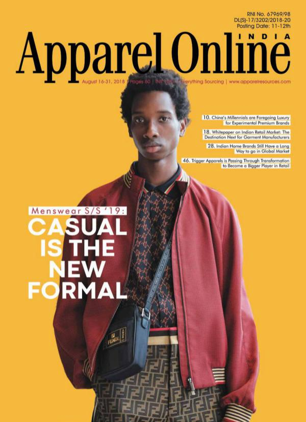 Apparel Online India Magazine August 2nd Issue 2018