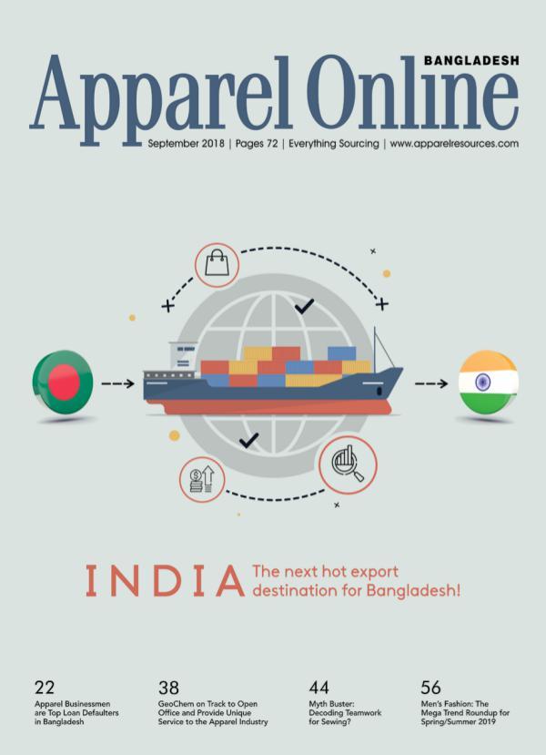 Apparel Online Bangladesh Magazine September Issue 2018