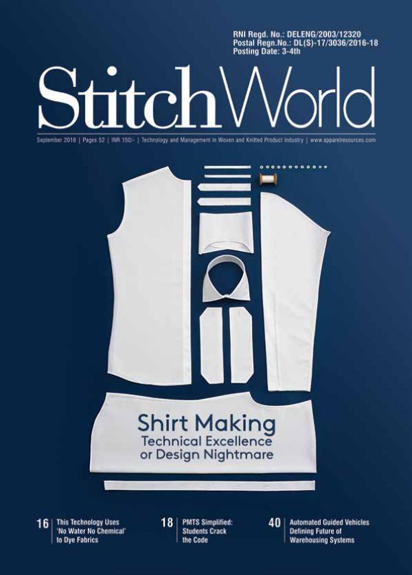 Stitch World Magazine September Issue 2018