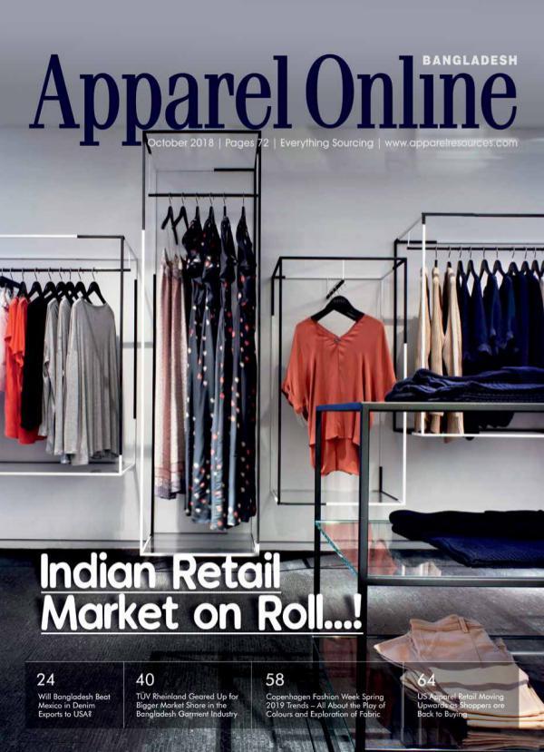 Apparel Online Bangladesh Magazine October Issue 2018